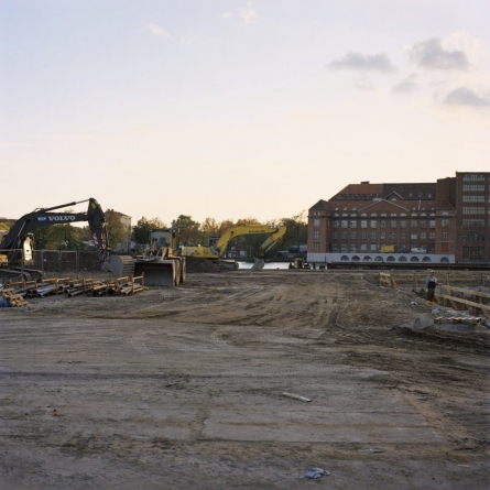 Development Along the Spree, 2008, from Berlin Project by Abby Storey