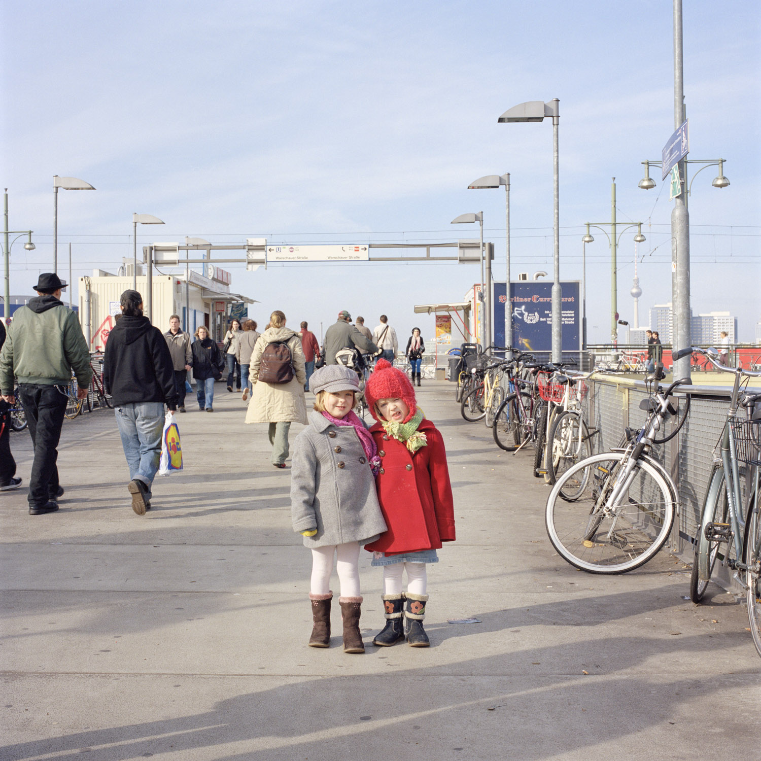 Helena And Jara, 2008, From Berlin Project By Abby Storey