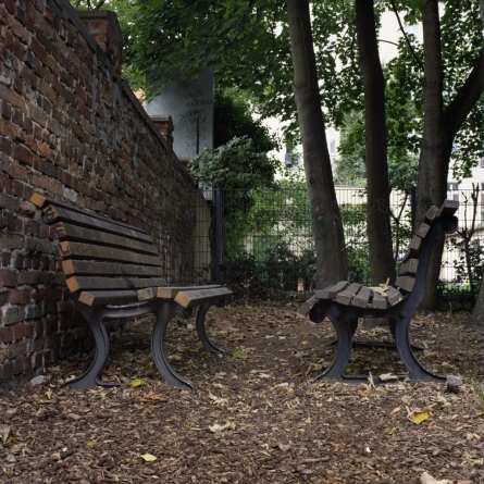 Intimate Benches, 2008, from Berlin Project by Abby Storey