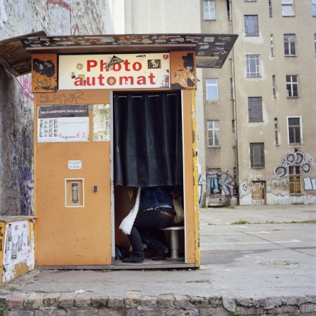 Photobooth, 2008, from Berlin Project by Abby Storey
