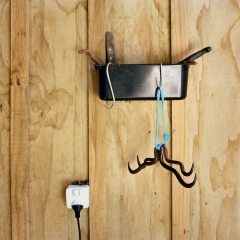 Meat Hooks. Photograph by Abby Storey for the series Of the Land.