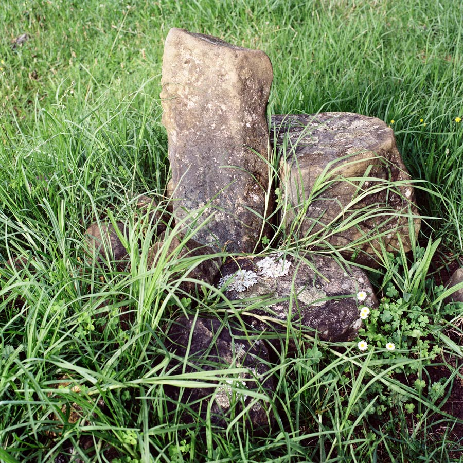 Sally's Grave. Photograph By Abby Storey For The Series Of The Land.