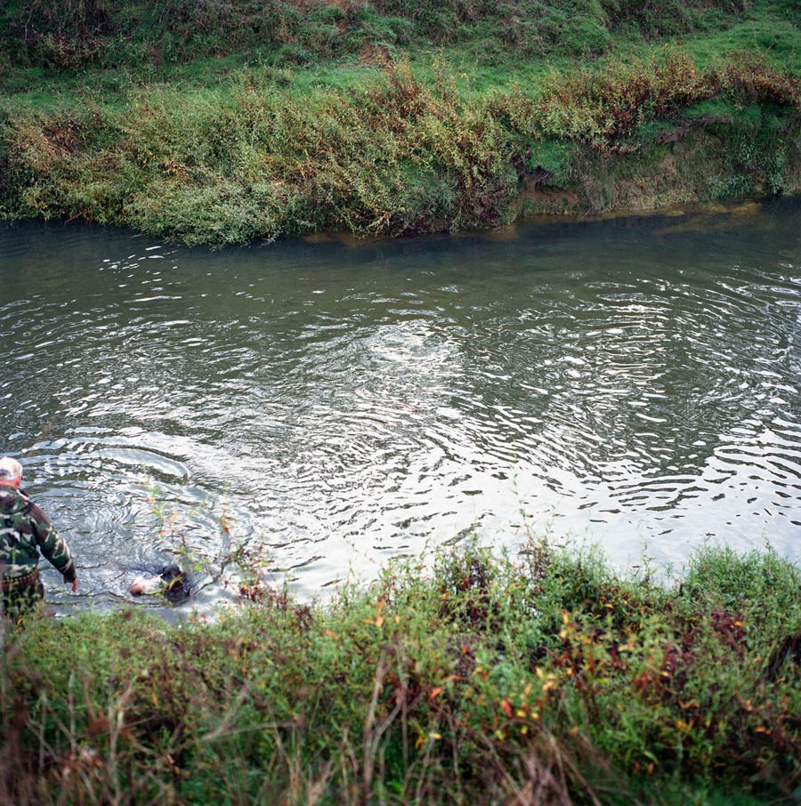 Whakapara River, Duck Shooting Season. Photograph By Abby Storey For The Series Of The Land.