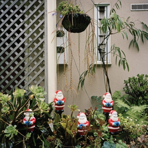Little Blue Santas, 2008, from the series Touchstones by Abby Storey.